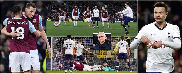 Hòa may mắn trước Burnley, đoàn quân của HLV Mourinho xếp thứ 8 - Ảnh 1.
