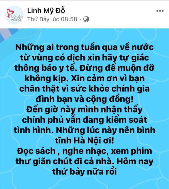 Hồng Nhung, Mỹ Linh, Tóc Tiên kêu gọi đoàn kết - yêu thương giữa dịch COVID-19 - Ảnh 3.