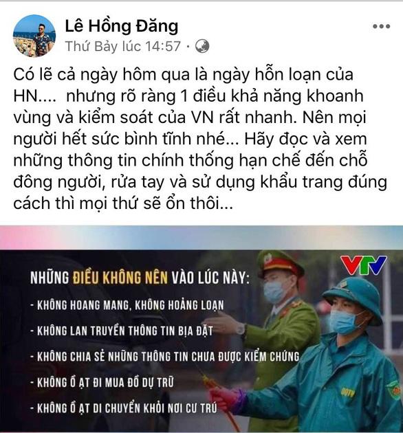 Hồng Nhung, Mỹ Linh, Tóc Tiên kêu gọi đoàn kết - yêu thương giữa dịch COVID-19 - Ảnh 6.