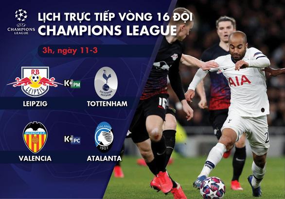 Lịch trực tiếp Champions League: Tottenham - Leipzig - Ảnh 1.