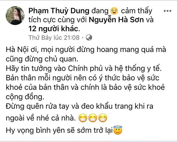 Hồng Nhung, Mỹ Linh, Tóc Tiên kêu gọi đoàn kết - yêu thương giữa dịch COVID-19 - Ảnh 4.