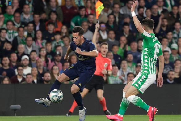 Sẩy chân trước Betis, Real Madrid mất cơ hội lấy lại ngôi đầu La Liga - Ảnh 2.