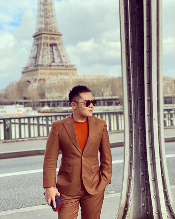 Vũ Khắc Tiệp và các sao Việt dự tuần lễ thời trang ở Milan, Paris đợt COVID-19 - Ảnh 9.