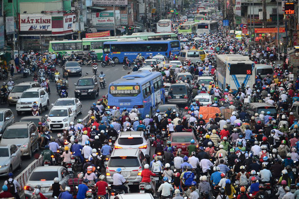 Từ ngày 11-3, tổ chức giao thông tại ngã năm Đài liệt sĩ có nhiều thay đổi - Ảnh 1.