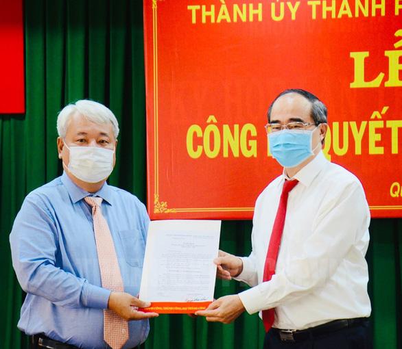 Bí thư quận Bình Tân giữ chức bí thư Đảng ủy khối Dân - chính - đảng TP.HCM - Ảnh 2.