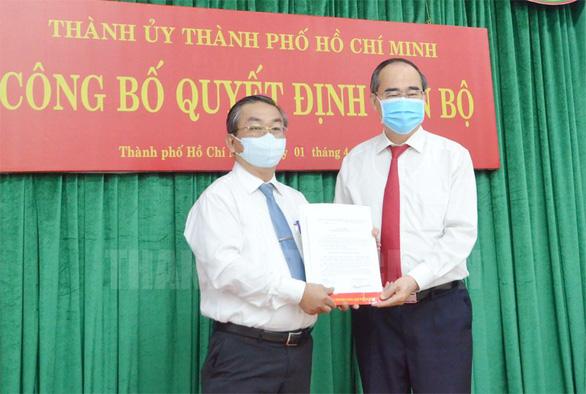 Bí thư quận Bình Tân giữ chức bí thư Đảng ủy khối Dân - chính - đảng TP.HCM - Ảnh 1.