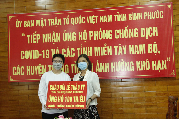 Hai học sinh đập heo đất ủng hộ 200 triệu phòng chống COVID-19 - Ảnh 2.