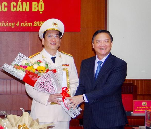 Công bố trực tuyến giám đốc mới Công an Khánh Hòa - Ảnh 1.