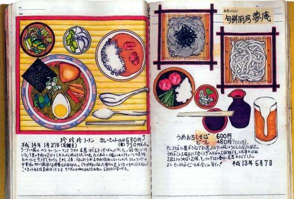 32 năm vẽ từng bữa ăn, đầu bếp Nhật lưu giữ miền ký ức ẩm thực - Ảnh 3.