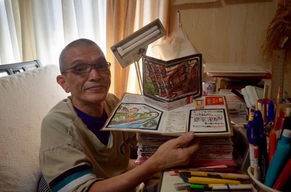 32 năm vẽ từng bữa ăn, đầu bếp Nhật lưu giữ miền ký ức ẩm thực - Ảnh 2.