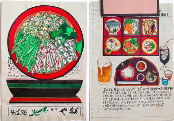 32 năm vẽ từng bữa ăn, đầu bếp Nhật lưu giữ miền ký ức ẩm thực - Ảnh 8.