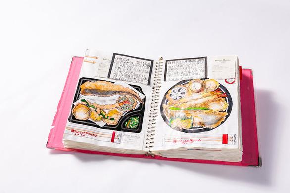32 năm vẽ từng bữa ăn, đầu bếp Nhật lưu giữ miền ký ức ẩm thực - Ảnh 7.