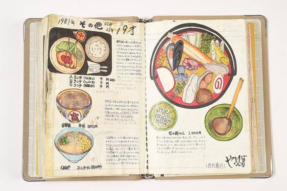 32 năm vẽ từng bữa ăn, đầu bếp Nhật lưu giữ miền ký ức ẩm thực - Ảnh 6.
