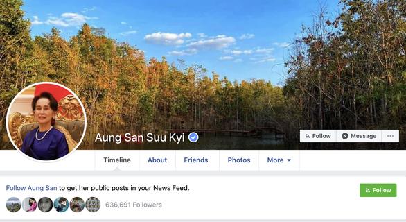 Bà San Suu Kyi lần đầu đăng Facebook giúp nước chống COVID-19 - Ảnh 1.
