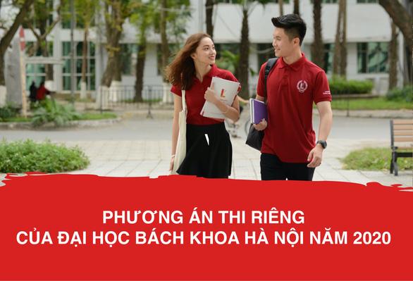 ĐH Bách khoa Hà Nội công bố phương thức tuyển sinh riêng - Ảnh 1.