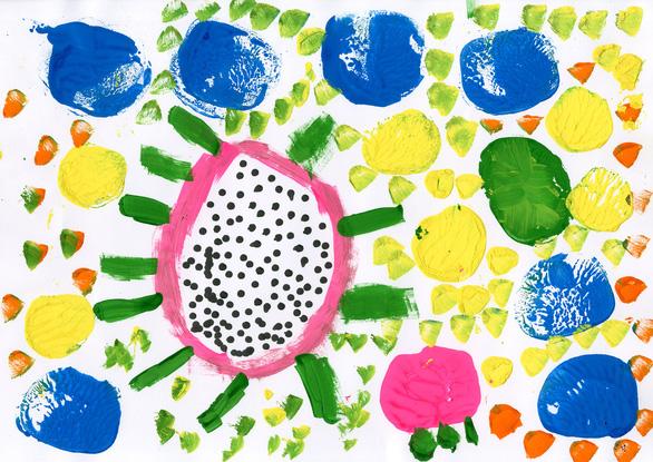 Thế giới màu sắc diệu kỳ trong triển lãm online của các nghệ sĩ tự kỷ - Ảnh 4.