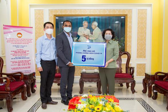 P&G Việt Nam tài trợ 5 tỉ đồng phòng chống dịch COVID-19 - Ảnh 1.