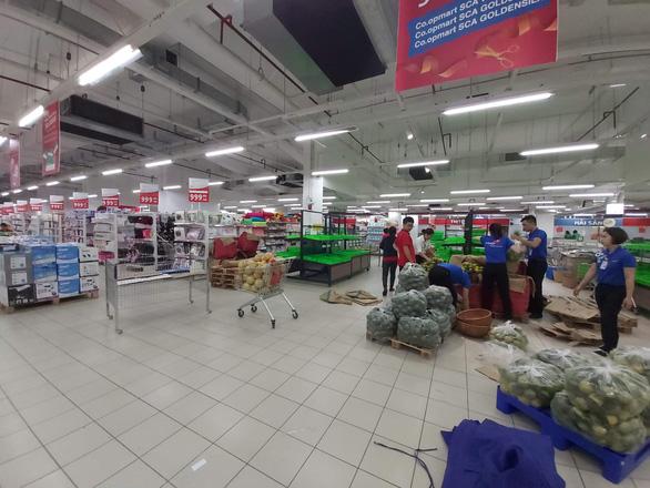 Các siêu thị Lotte, Co.opmart, Satra... giảm doanh thu 50% vì COVID-19 - Ảnh 1.