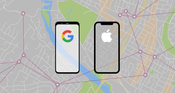 Apple và Google hợp tác ra mắt công cụ theo dõi COVID-19 - Ảnh 1.