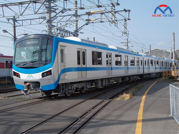 Đoàn tàu metro số 1 Bến Thành - Suối Tiên chạy thử ở Nhật Bản - Ảnh 1.