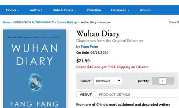 Tác giả Nhật ký Vũ Hán bị ném đá dữ dội vì đồng ý xuất bản sách bằng tiếng Anh - Ảnh 1.