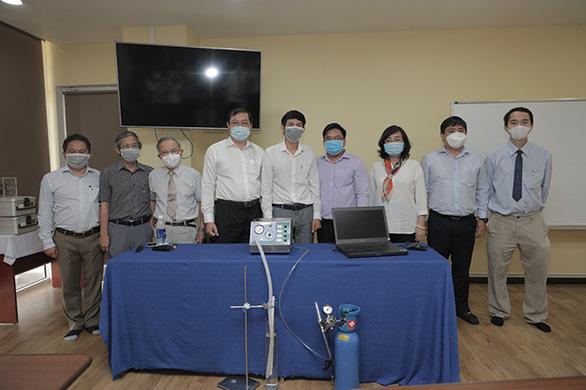 Máy thở của ĐH Duy Tân hứa hẹn giá thành không quá 20 triệu đồng - Ảnh 3.