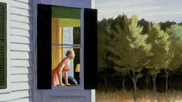 Edward Hopper đã vẽ chúng ta từ 100 năm trước - Ảnh 1.