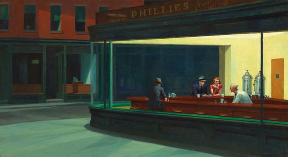 Edward Hopper đã vẽ chúng ta từ 100 năm trước - Ảnh 2.