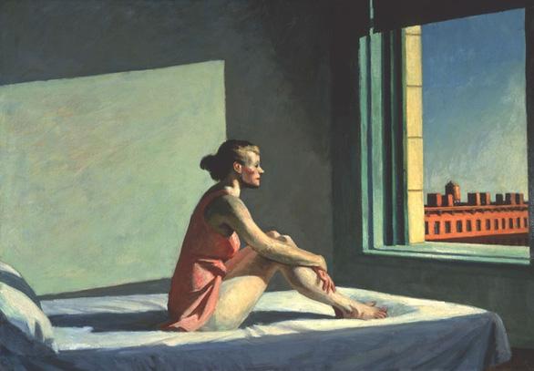 Edward Hopper đã vẽ chúng ta từ 100 năm trước - Ảnh 4.
