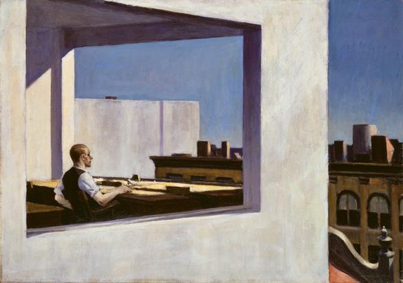 Edward Hopper đã vẽ chúng ta từ 100 năm trước - Ảnh 7.