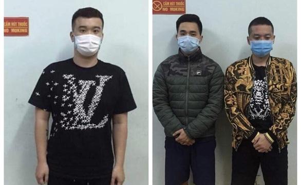 Tạm giam nhóm thanh niên đấm công an dù vi phạm tụ tập ăn nhậu, karaoke - Ảnh 1.