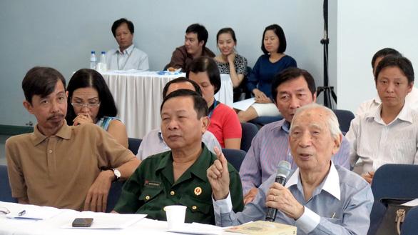 Nhà nghiên cứu trăm tuổi Nguyễn Đình Đầu thao thức khôn nguôi chủ quyền biển đảo - Ảnh 1.
