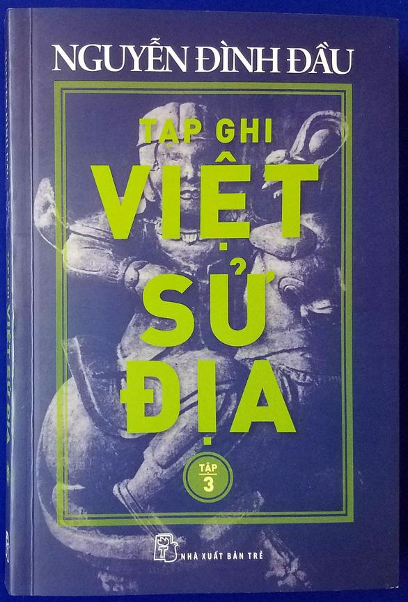 Nhà nghiên cứu trăm tuổi Nguyễn Đình Đầu thao thức khôn nguôi chủ quyền biển đảo - Ảnh 2.