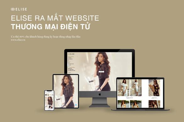 Elise ra mắt trang thương mại điện tử mới giữa mùa dịch - Ảnh 2.