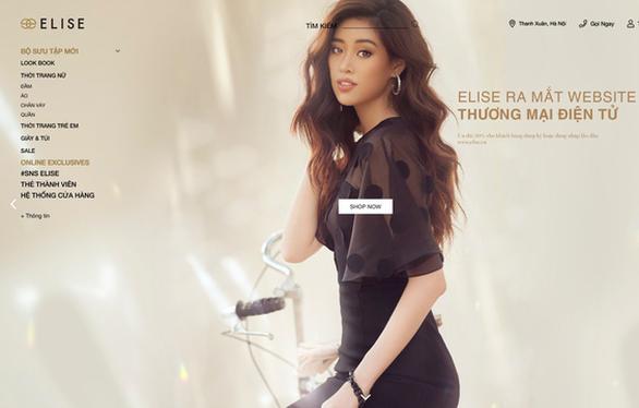 Elise ra mắt trang thương mại điện tử mới giữa mùa dịch - Ảnh 1.