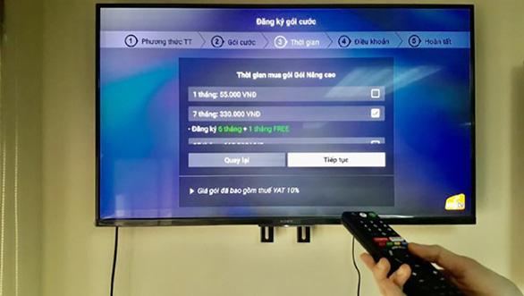 MyTV ra mắt tiện ích thanh toán trả trước qua ứng dụng trên Smart TV - Ảnh 2.