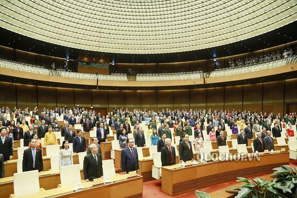 Quốc hội sẽ họp trực tuyến, biểu quyết qua điện thoại di động - Ảnh 1.