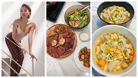 Khi Tóc Tiên, HHen Niê, Lan Phương... ngồi ở nhà và nghĩ tối nay ăn gì? - Ảnh 2.