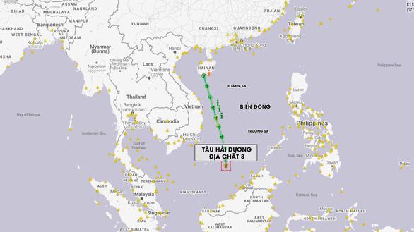 Hành động kép - Tàu Liêu Ninh và HD8 vào Biển Đông: Không chấp nhận chuyện đã rồi - Ảnh 1.