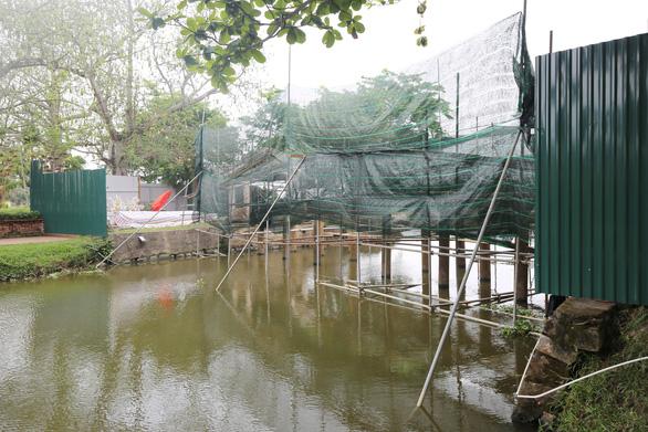 Tiến hành hạ giải để trùng tu cầu ngói Thanh Toàn, di tích hơn 2 thế kỷ - Ảnh 1.