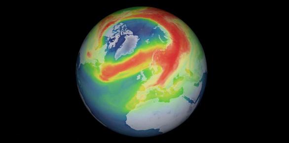 Lỗ thủng tầng ozone Nam Cực dần lành, ở Bắc Cực lớn kỷ lục - Ảnh 1.