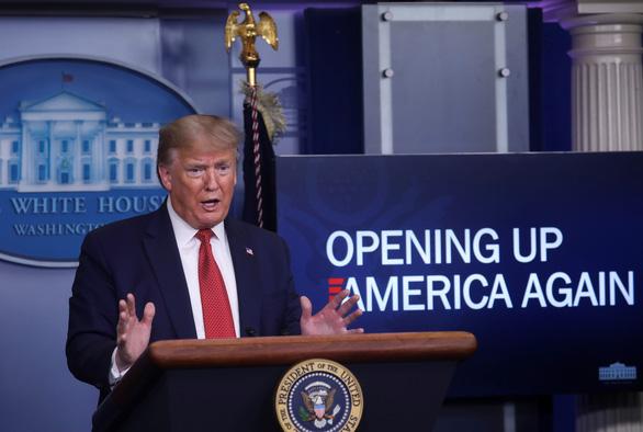 Dịch COVID-19 sáng 17-4: Công bố kế hoạch mở cửa lại nước Mỹ, ông Trump nói gì? - Ảnh 1.
