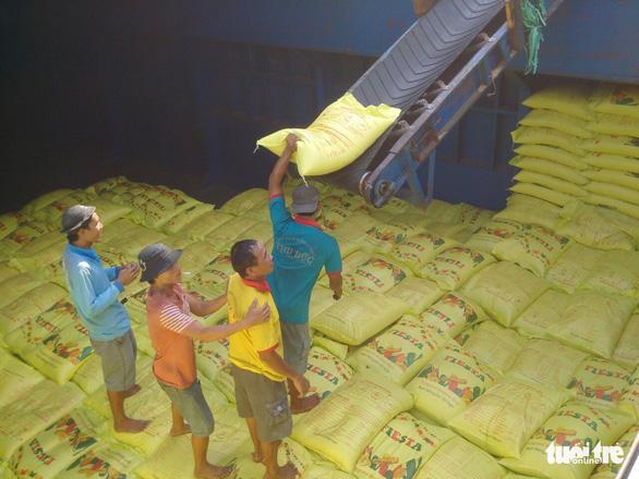 Giải phóng nhanh gạo đang ùn ứ tại cảng để giảm tổn thất cho doanh nghiệp - Ảnh 3.