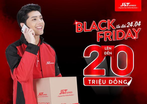 Gửi hàng ngày Black Friday - J&T Express trao tay cơ hội nhận quà hấp dẫn - Ảnh 1.