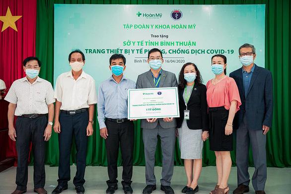 Tập đoàn Y khoa Hoàn Mỹ tài trợ trang thiết bị y tế cho Sở Y tế tỉnh Bình Thuận - Ảnh 1.