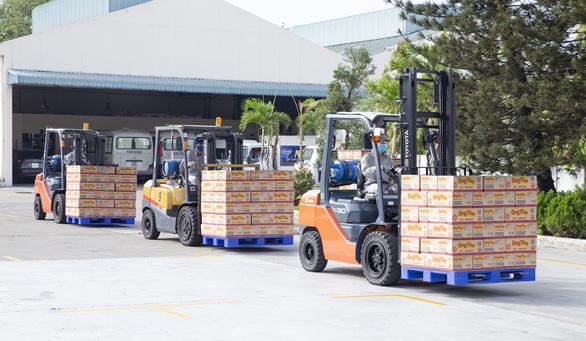 Vượt khó dịch COVID-19, Vinamilk xuất khẩu sữa vào thị trường Trung Quốc - Ảnh 4.