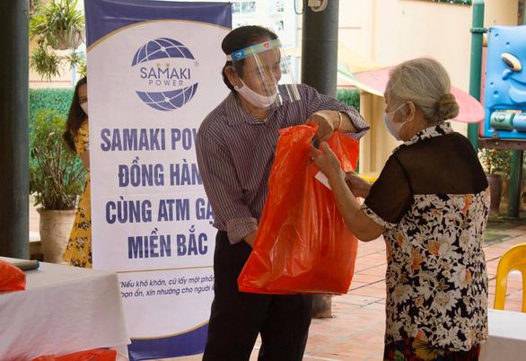 Công ty cổ phần Samaki Power phối hợp cùng Công ty Toàn Thắng lắp máy ATM gạo - Ảnh 1.