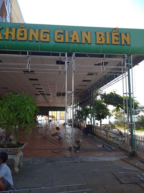 Bình Định yêu cầu khách sạn Bình Dương ngưng sửa chữa để di dời - Ảnh 2.