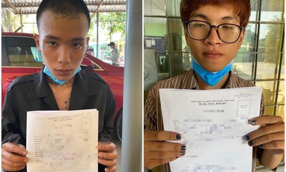 Bắt 2 thanh niên táo tợn cướp tài sản của phụ nữ trên đường phố - Ảnh 1.