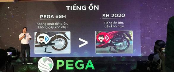 Lùm xùm với Honda VN, Pega đổi tên xe eSH thành ESP - Ảnh 1.